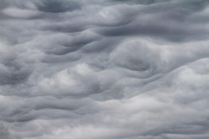 An asperitas formation over Haarlem, Netherlands.
