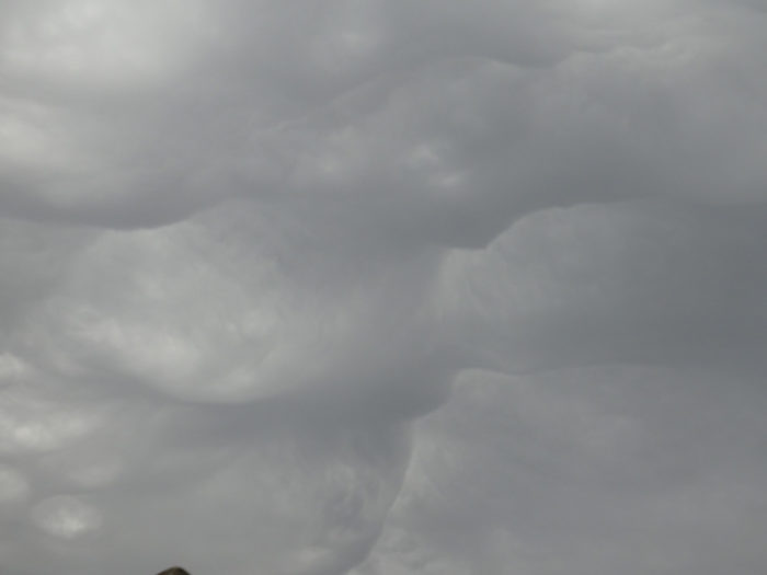 An asperitas formation over Charente, France.