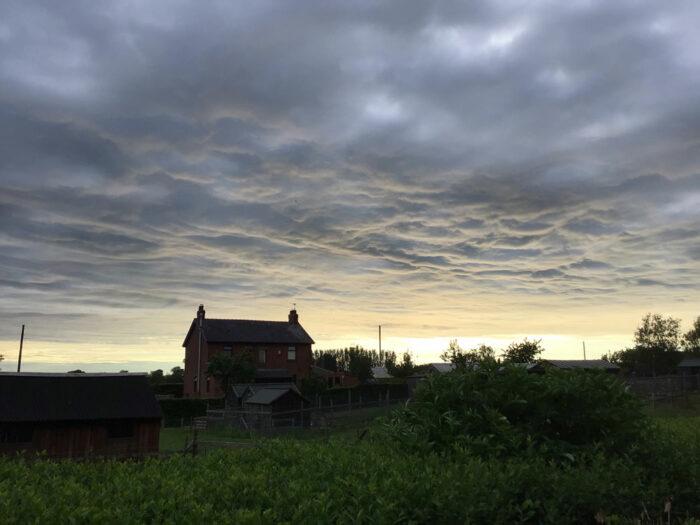 Asperitas over Catforth, Preston, UK