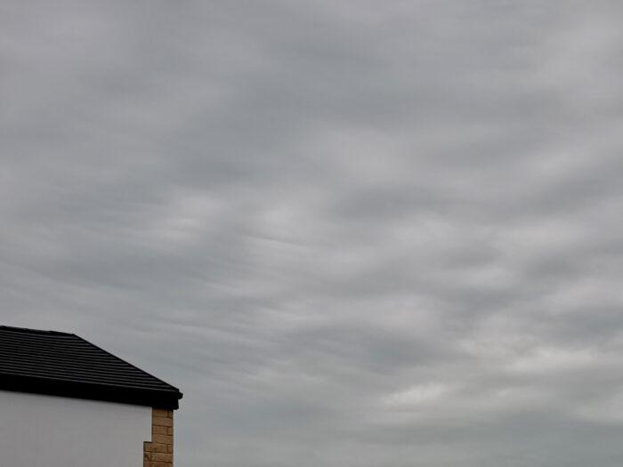 Asperitas over Burnley, Lancashire, UK.